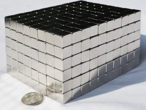 5mm X 5mm x 5mm cubes / squares - 25 / 50 / 100 / 250 pcs STRONG MAGNETS - strongest possible N52 Neodymium - rare Earth
