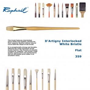 Raphael D'Artigny Interlocked White Bristle 359 (Flat)