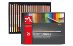 Caran d'Ache - PASTEL PENCILS – ASSORTMENT OF 20 COLORS