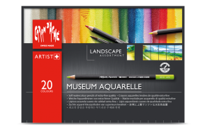 "MUSEUM AQUARELLE - ""LANDSCAPE"" ASSORTMENT OF 20 COLOURS"