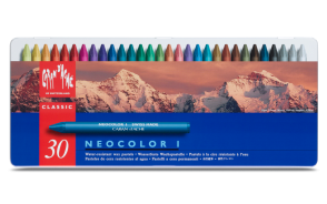 Caran d'Ache - NEOCOLOR® I - 30 COLOR ASSORTMENT