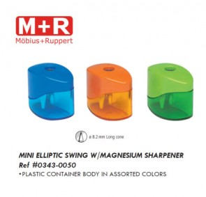 Mobius and Ruppert (M+R) 0343-0050 Mini Elliptic Swing with magnesium sharpener