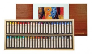 Sennelier Picasso - Oil Pastel Wood Set 50 Original Picasso Colors