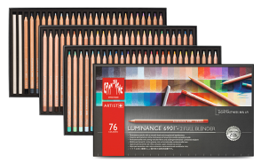 LUMINANCE 6901® - 76 COLOUR ASSORTMENT + 2 FULL BLENDER
