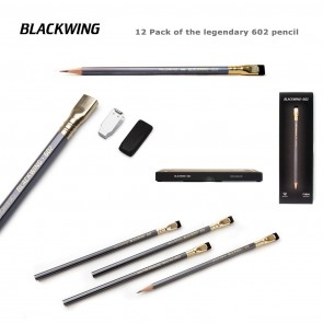 Palomino Blackwing 602 Pencils (12 Pack) - Made in Japan