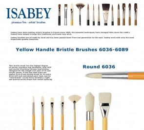 Isabey Isacryl 6036 (Round)