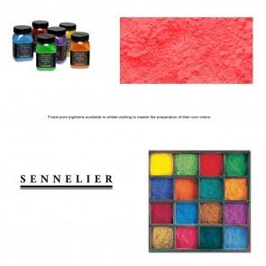 Sennelier #604 - Dry Pigment 100g Jar Fluorescent Red