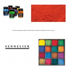 Sennelier #605 - Dry Pigment 120g Jar Cadmium Red Light