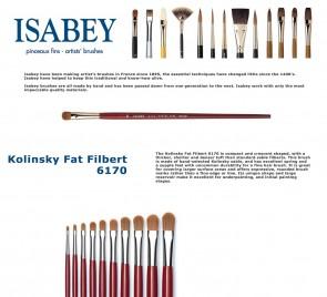 Isabey Kolinsky Fat Filbert  6170