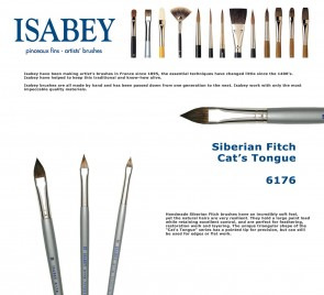 Isabey Siberian Fitch 6176 (Cat's Tongue)