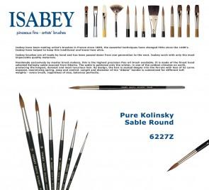 Isabey Pure Kolinsky Sable Round 6227Z