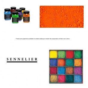 Sennelier #641 - Dry Pigment 25g Jar Sennelier Pyrrole Orange