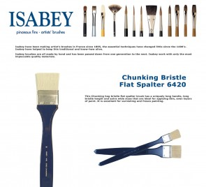 Isabey Chunking Bristle Flat Spalter 6420