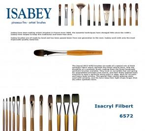 Isabey Isacryl 6572 (Filbert)