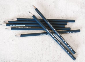 Caran d'Ache Edelweiss 3B Writing Pencil - Made in Switzerland - 12 pack