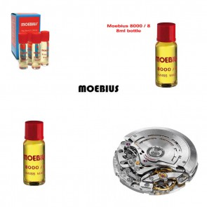 Moebius 8000 Watch Oil - 8ml bottle - Made in Switzerland - the classic oil
