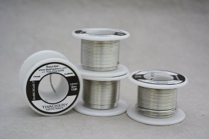 Thackery Sn99.3Cu0.7 Flux Core Solder Wire - 1mm thickness - sold by the foot/meter