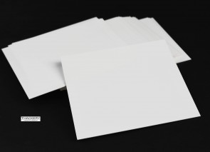"3 pieces of THIN RECTANGULAR ALUMINA CERAMIC SHEETS - .020"" Thick X 4 1/2"" X 4 1/2"" - Alumina 96%, AS1-40, Fully Fired Ceramic Substrate"