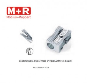 Mobius and Ruppert (M+R) 0220 WEDGE SHAPED MAGNESIUM Pencil sharpener