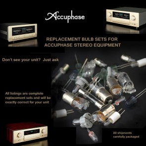 Accuphase M-60 Front Panel Replacement Bulbs - complete set