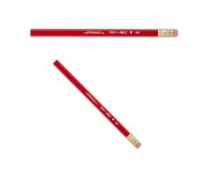 J.R. Moon Pencil Company B21 Jumbo Body TRY-REX W/ERASER #2 - choose 3 / 6 / 12 pack