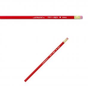 J.R. Moon Pencil Company B46-2 TRY-REX W/ERASER #2 - choose 3 / 6 / 12 / 24 pack