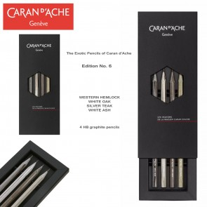 The pencils of Caran d'Ache - Limited Edition Number 6 - Scented pencils - Made in Switzerland
