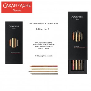 The pencils of Caran d'Ache - Limited Edition Number 7 - Made in Switzerland