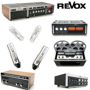 Replacement Bulbs for Vintage Revox PR99 - 3 bulbs