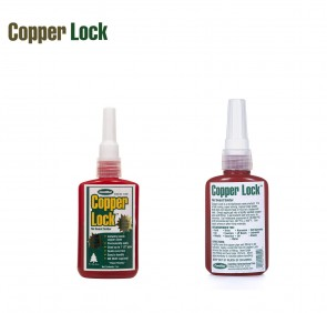 Copper Lock No Heat Solder, 2oz Tube, Red 10-800 - Made in USA