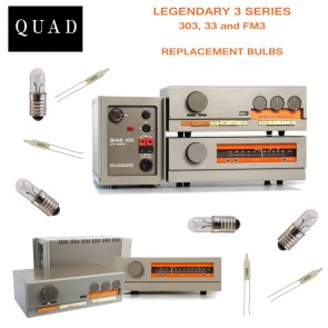 QUAD 3 SERIES REPLACEMENT BULBS - for 33, 303 and FM3