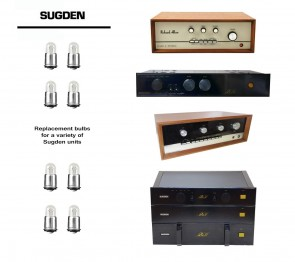 SUGDEN REPLACEMENT BULBS - replacements for a variety of classic units