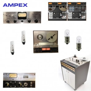 AMPEX REPLACEMENT BULBS - replacements for a variety of classic units