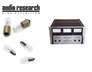 Audio Research D-110 and D-110B Tube Amplifier: complete set of replacement bulbs