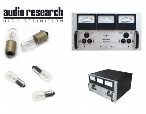Audio Research D-79A, D-79B and D-79C Tube Amplifier: complete set of replacement bulbs