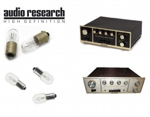 Audio Research SP3 and SP3-1A: complete set of replacement bulbs
