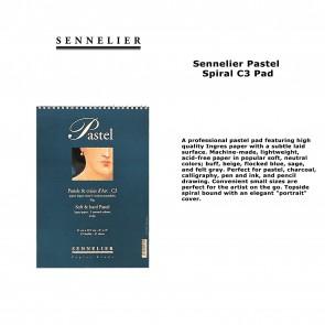 "Sennelier Pastel Spiral 9.5""x12.5"" 45lb - 45 Sheets"