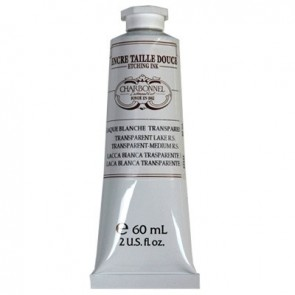 Charbonnel Etching Ink 60ml Tube White Transparent Lake