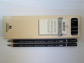VINTAGE REXEL CUMBERLAND - DERWENT SKETCHING - 8B - Made in GREAT BRITAIN