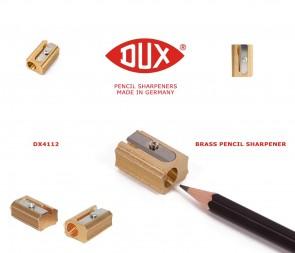 DUX Pencil Sharpener - brass - DX4112