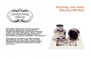 Charbonnel  Etching Ink 60ml Tube Snow White-RS