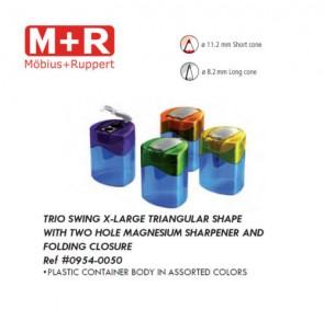 Mobius & Ruppert (M+R) 0954-10 Trio Swing extra large container sharpener