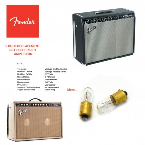 Fender Pilot Light Bulbs for a Variety of Fender Amplifiers