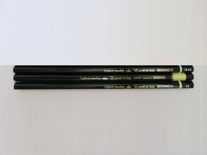 VINTAGE TOMBOW MONO R 3H Pencils - Made in  Japan