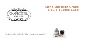 Charbonnel Litho Ink High Grade Liquid Tusche 125g