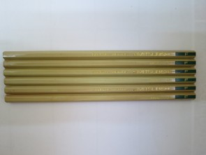VINTAGE MITSUBISHI 2200 General Writing Pencils - F - Made in Japan