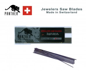 12 Pack PANTHER Jewelers Sawblades - excellent quality - MADE in SWITZERLAND - choose sz 8/0 thru 8