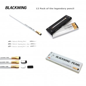 Palomino Blackwing Pearl Pencils (12 Pack) - Made in Japan