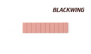 Blackwing Replacement Erasers PINK - (10 Pack) - Made in Japan