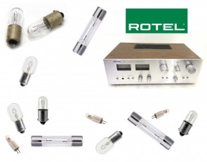 ROTEL RA-314 Receiver: replacement bulbs